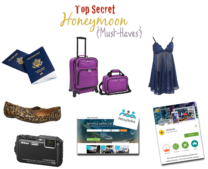 items you should pack or use for your honeymoon