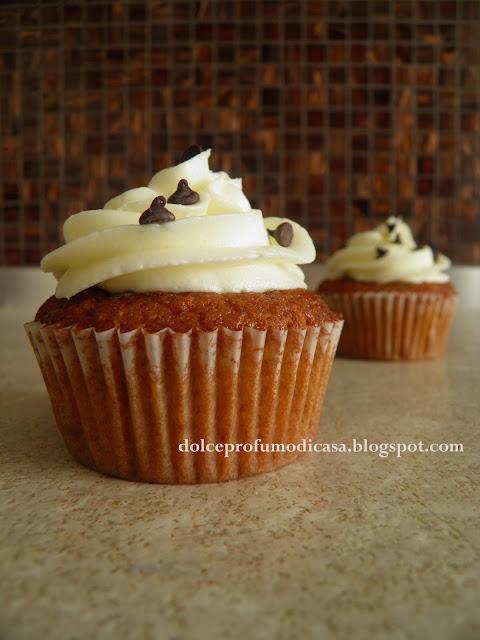 banana-chocolate cupcakes!