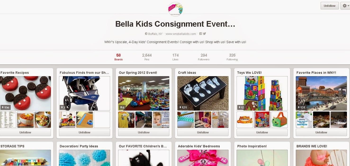 Bella Kids Pinterest