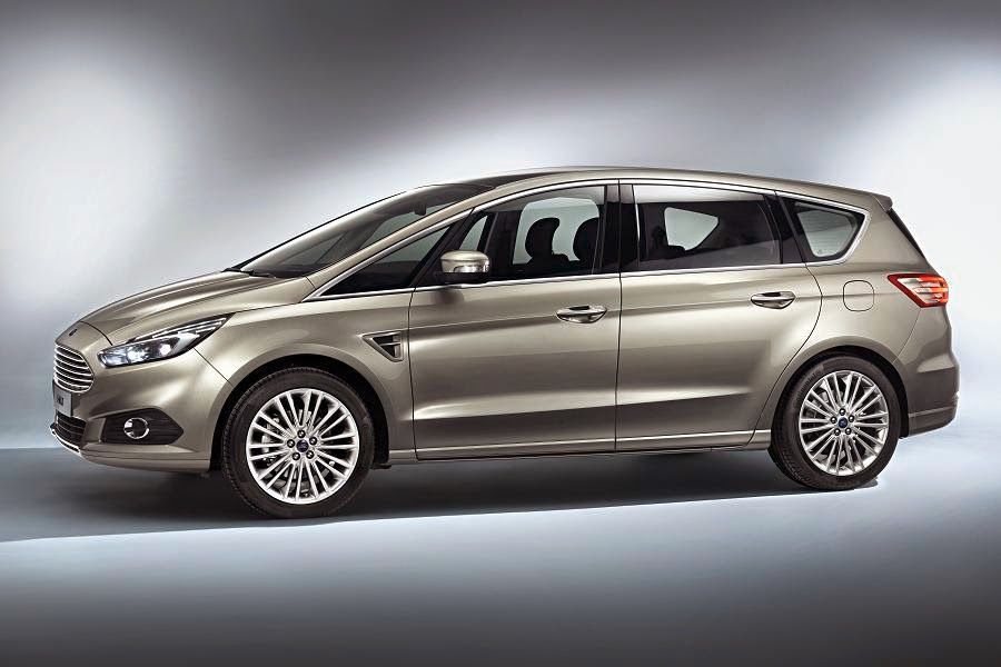 Ford S-Max (2015) Front Side 1