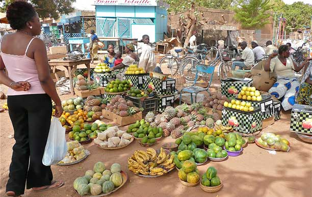 food market burkina faso