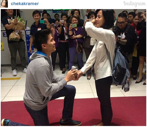 Bianca Gonzalez now Engaged to JC Intal.