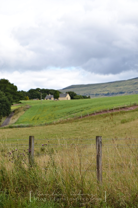 visit scotland, the gateway to the highlands scottland, village kippen scottland, visit kippen, landscape views scotland, skottland, farm house scotland