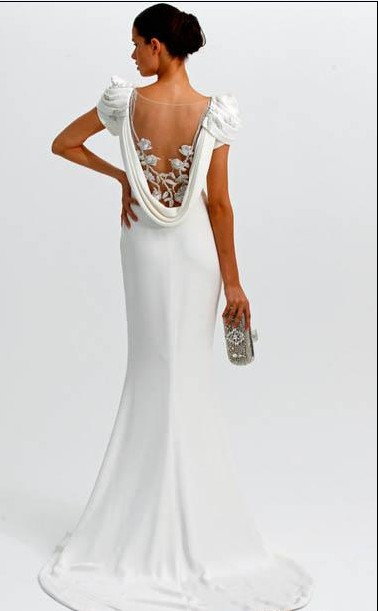Special Wedding Dresses Unique Designs In The Back