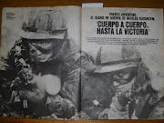 La Guerra de Malvinas revista siete dias pag