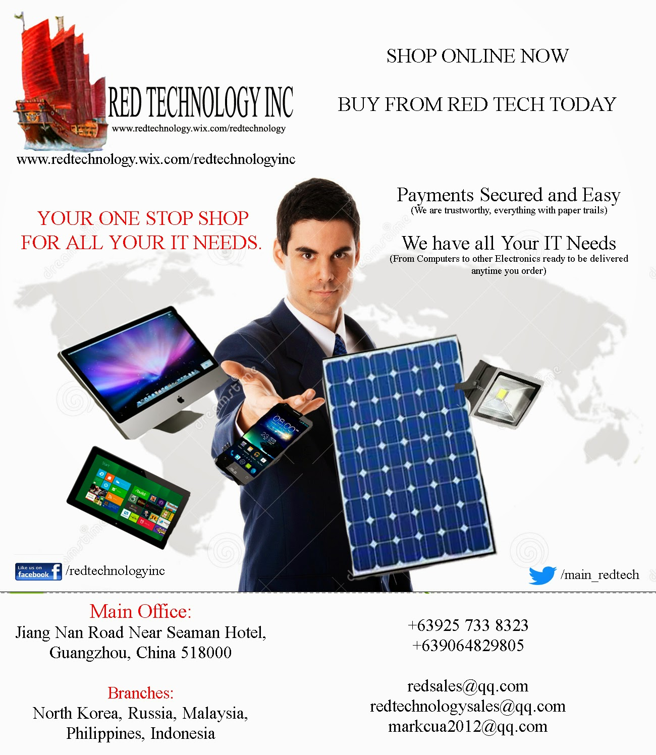 Advertisement from Red Tech