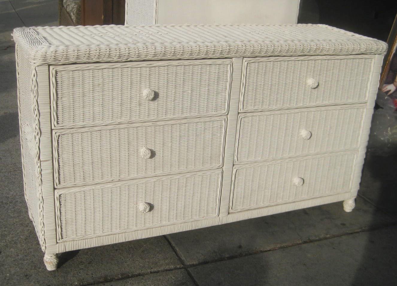 Uhuru furniture collectibles sold wicker dresser 65 for Furniture 65