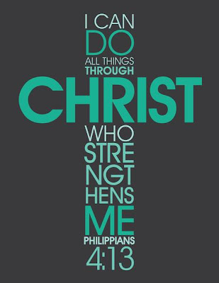 philippians 3:13-I can do all things through CHRIST