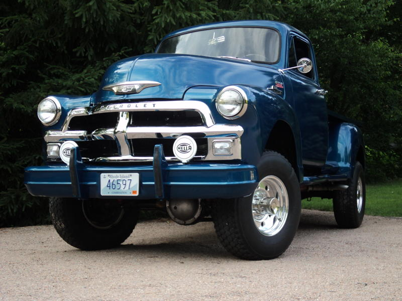 1954 Chevy Truck Gallant Lifted Hot News