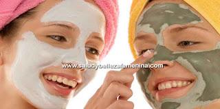 Mascaras faciales caseras,
