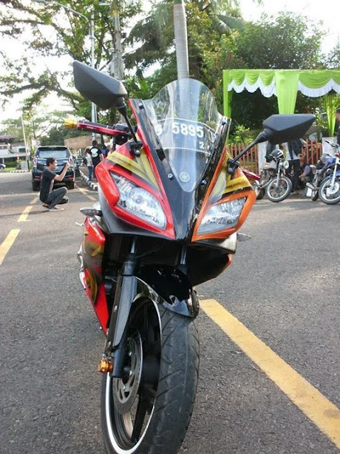 Modifikasi Vixion Sporty Model R125 2013