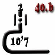 Ejemplo 40.b: Cañón (x2) del calibre 10'7