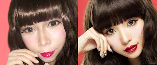 Tsubasa Masuwaka Dolly Wink Gyaru Make up