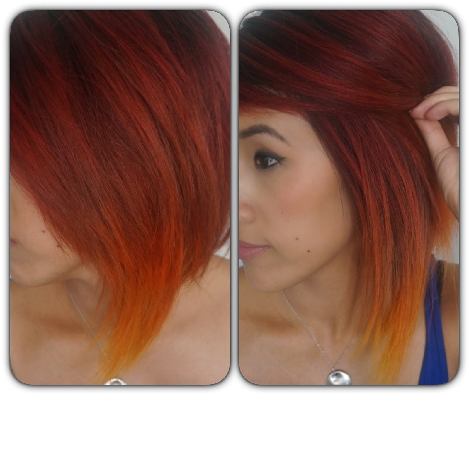Seven Ways Fire Ombre Hair Can Improve Your Business