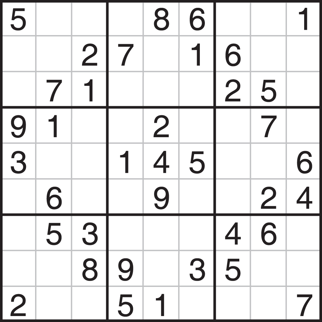 It's just a graphic of Crafty Sudoku Printable Free