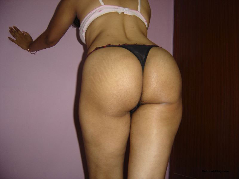 Of Sey Desi Girlfriend Skimpy Thong Panty Showing Ass And Tits Pics