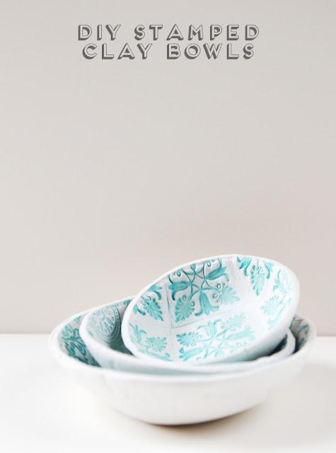 DIY clay bowl tutoraial