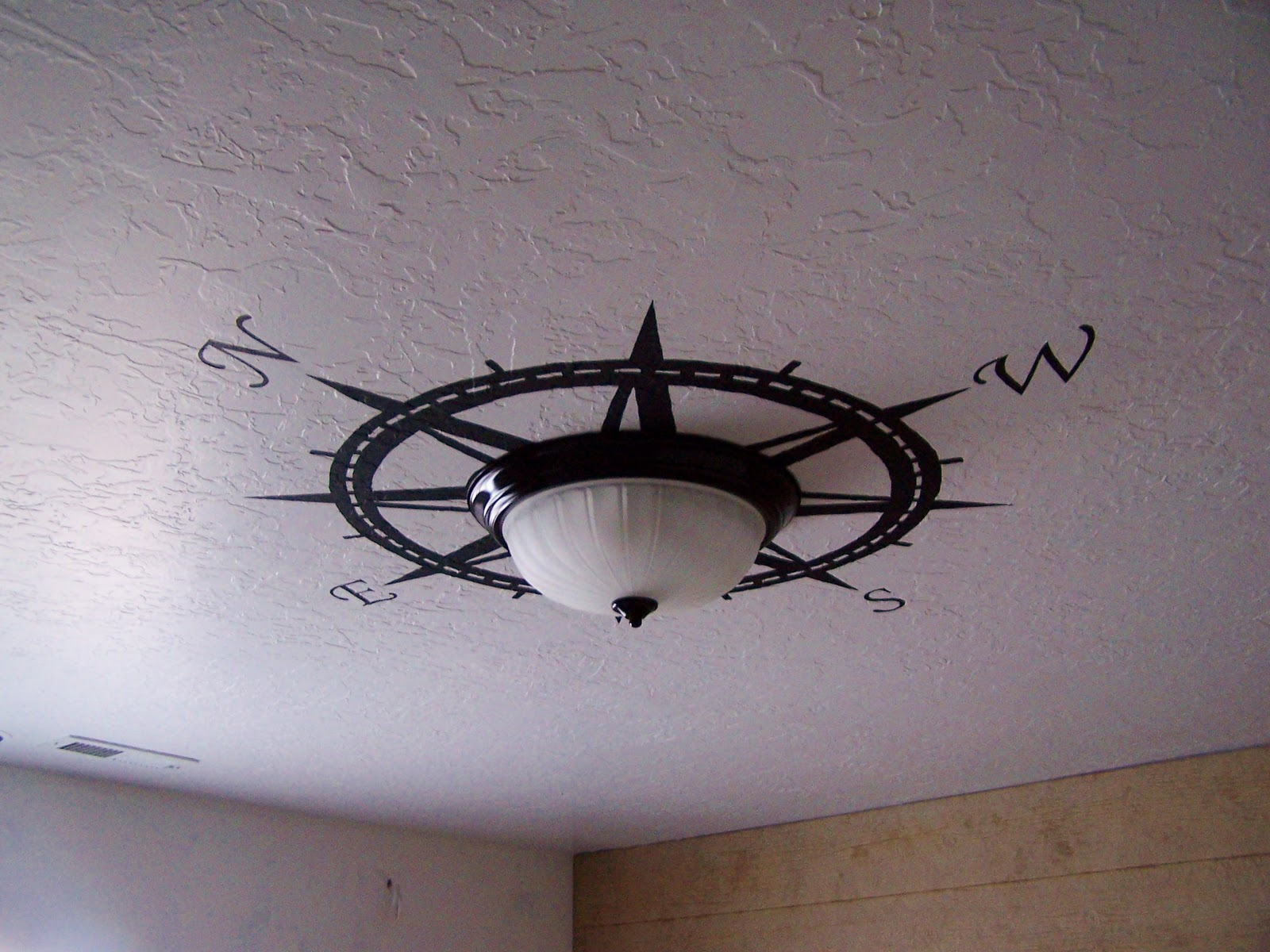 Batchelors Way Up date on Pirate Room Walls and Ceiling