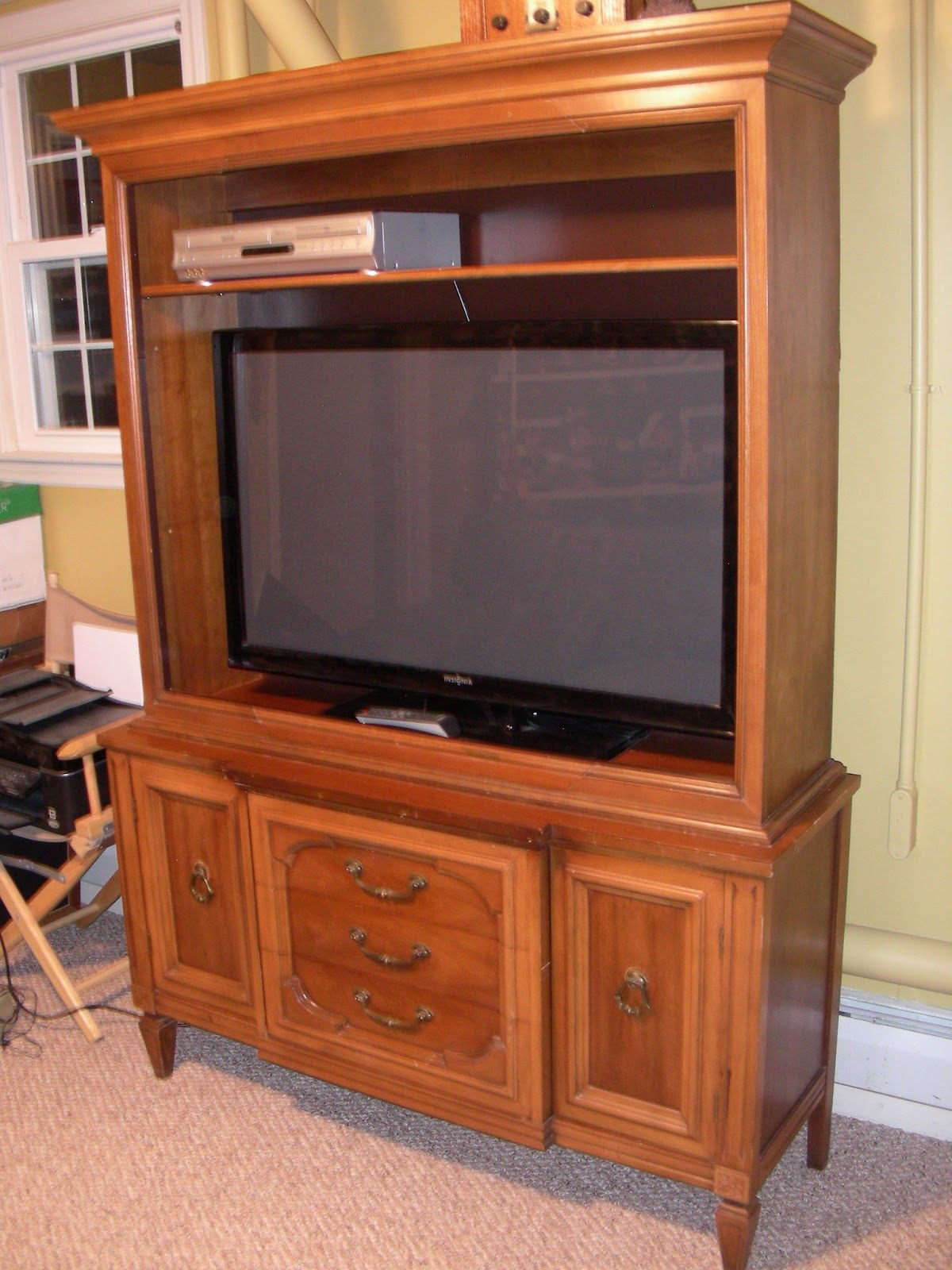 Destinations vintage upcycled repurposed stuff for Upcycled entertainment center