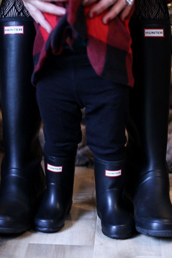 hunter boots for your kids