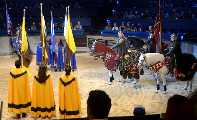 King's introduction of the Knights, Medieval Times Atlanta