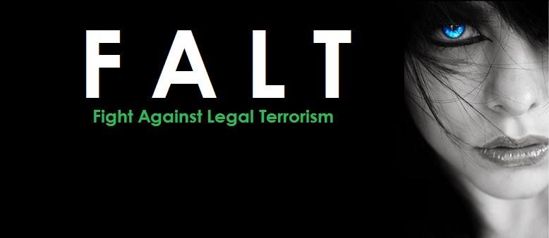 Against Terrorism Slogans Fight Against Legal Terrorism