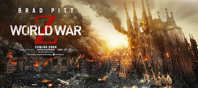 World War Z Banner Poster Barcelona