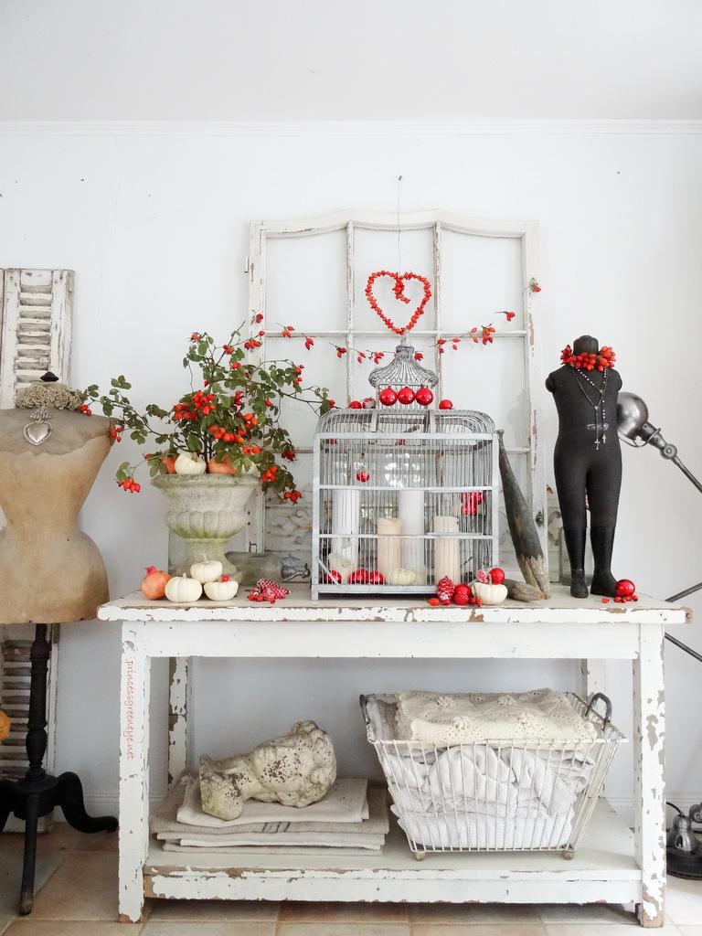 princessgreeneye: Auch in diesem Jahr: ROT ist die Farbe der Liebe ...
