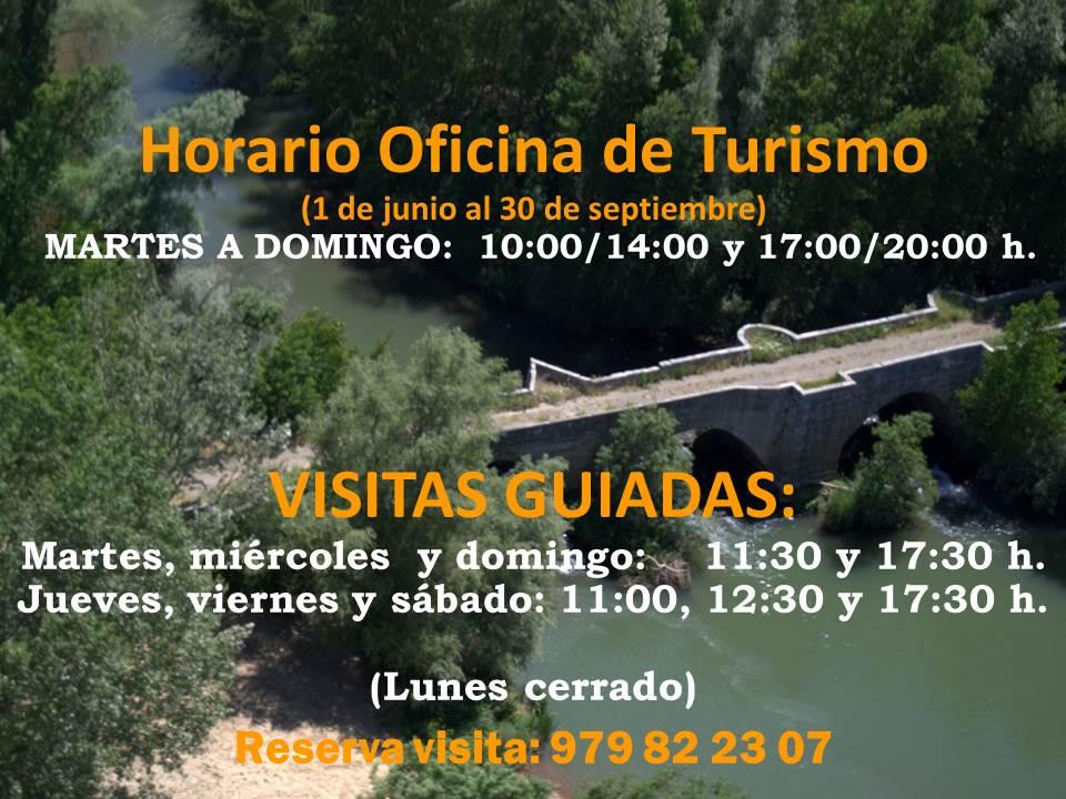 Turismo astudillo horario de verano oficina de turismo for Horarios de oficina de correos
