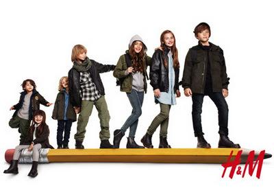 COLECCIONES INFANTILES H&M PRIMAVERA-VERANO OTOÑO-INVIERNO