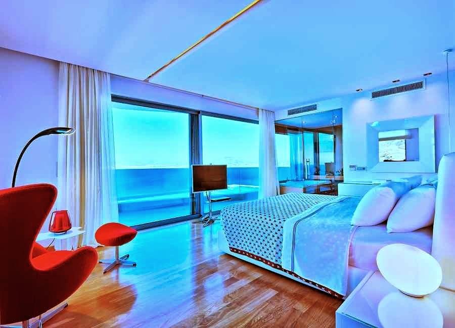 Casa de playa en isla creta con impresionantes vistas al - Diseno de una habitacion ...