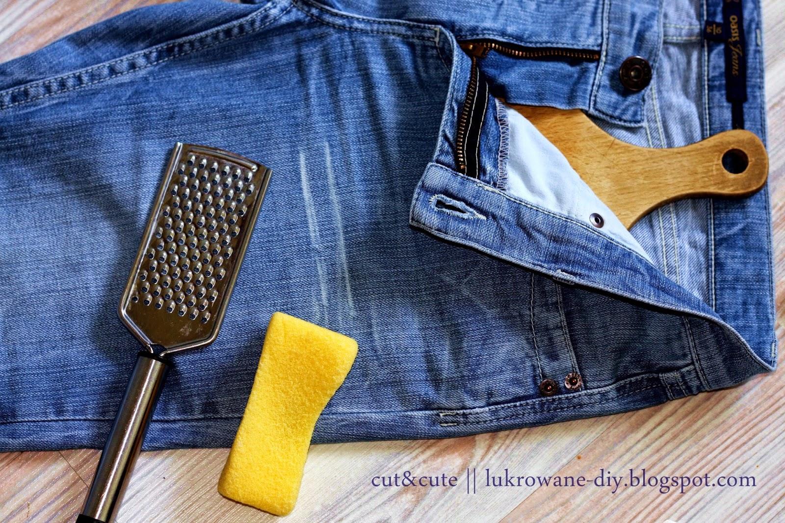 Poradnik DIY spodnie z dziurami