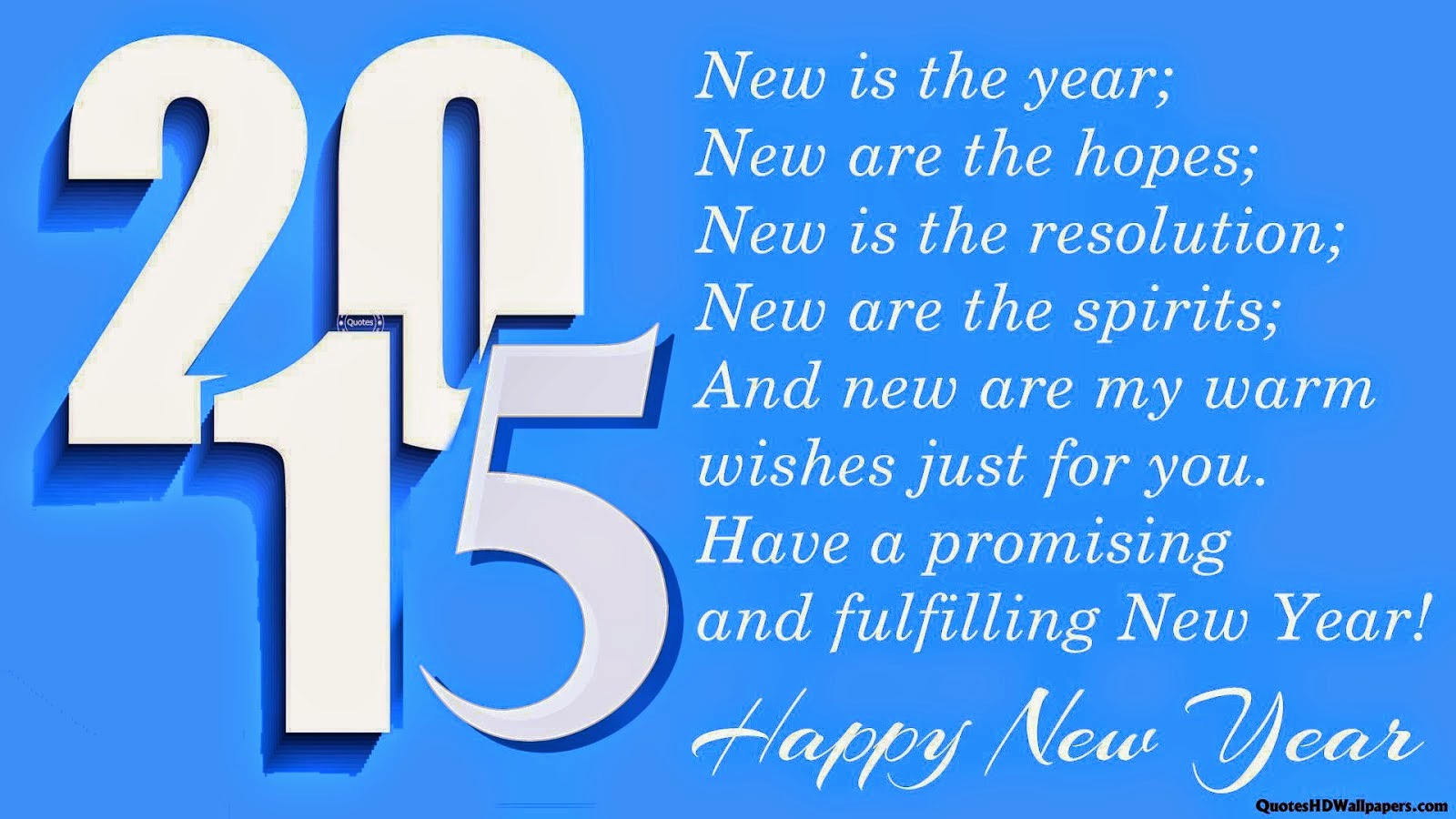 Happy New Year 2016 Stock Wallpapers