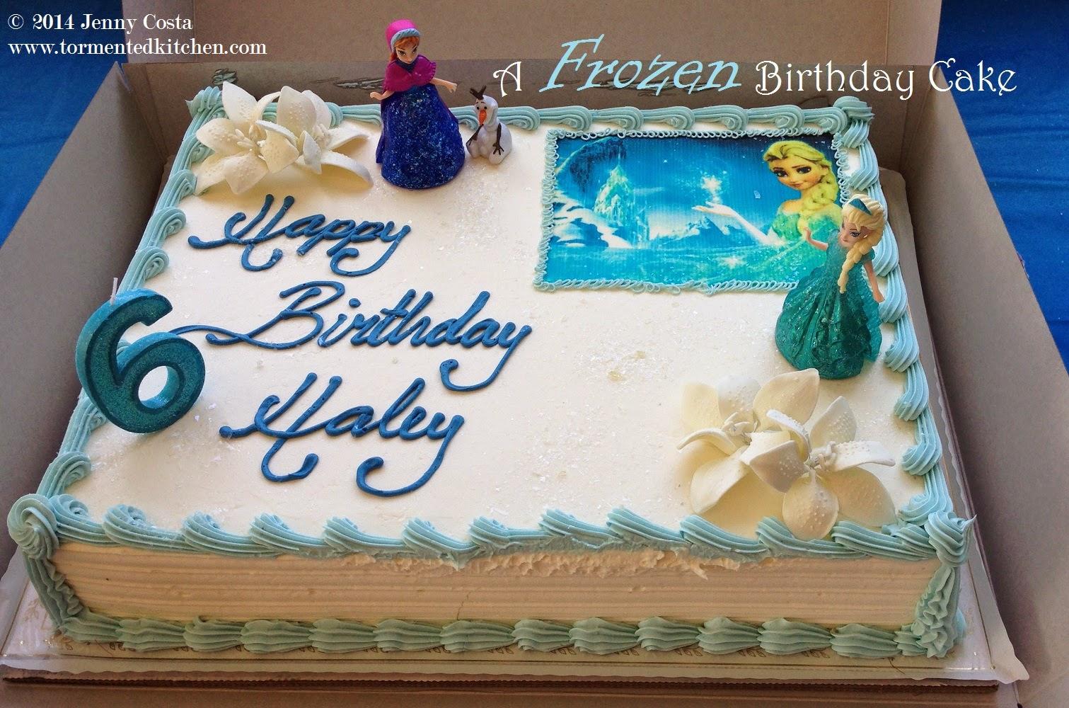Tormented Kitchen: Frozen Cake