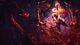 zyra league of legends lol girl wildfire skin splash hd wallpaper