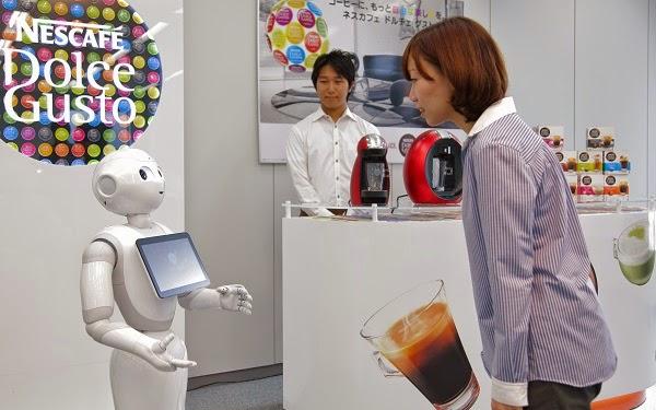 شركة Nestlé توظف 1000 روبوت لبيع أجهزة تحضير القهوة !