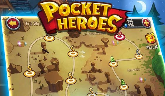 Pocket Heroes Gameplay