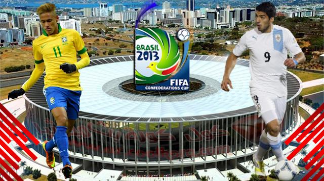 Brazil vs Uruguay 26-06-2013 online Live
