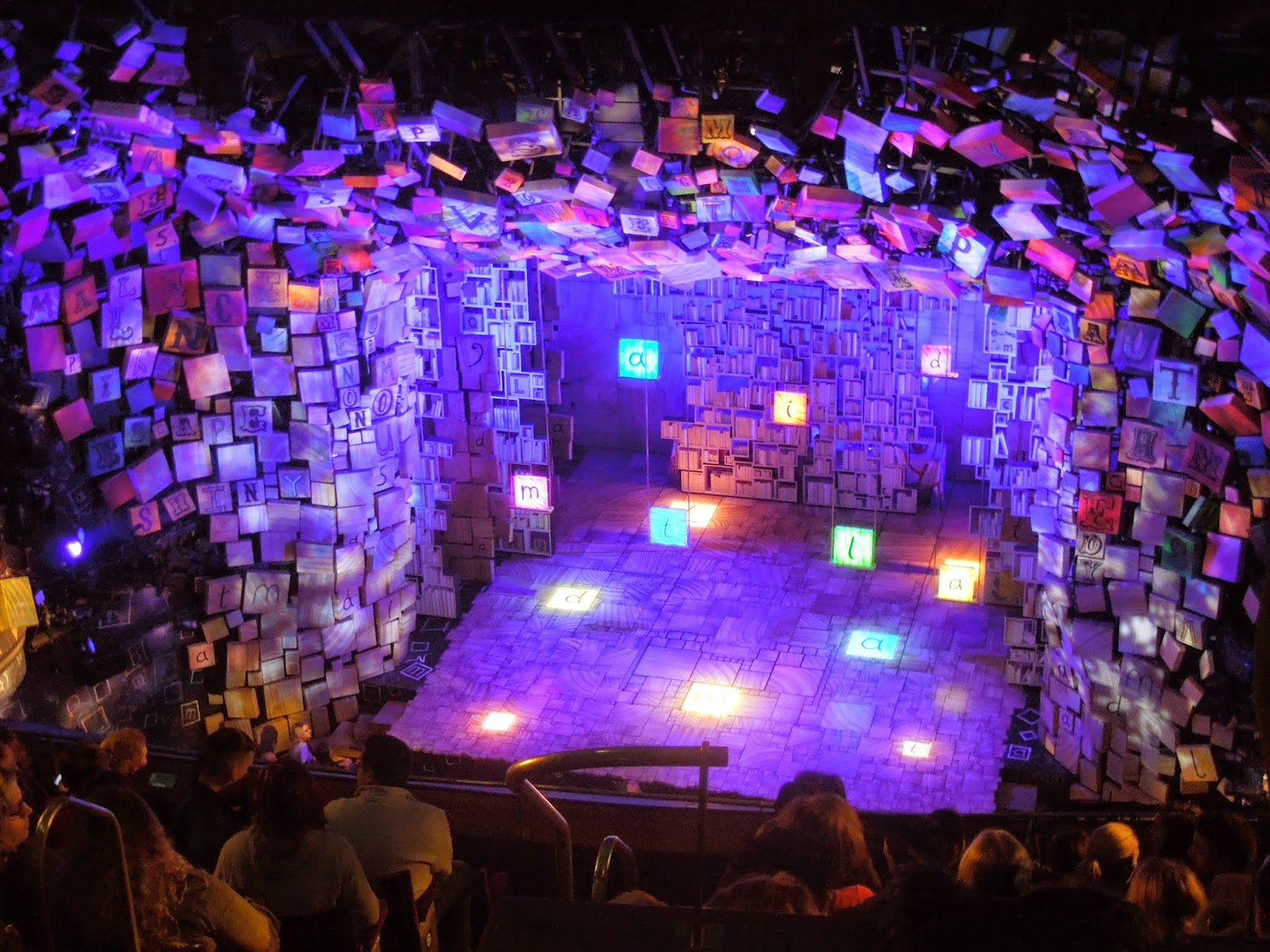 Sarah S Celeb Encounters Matilda The Musical January 2015