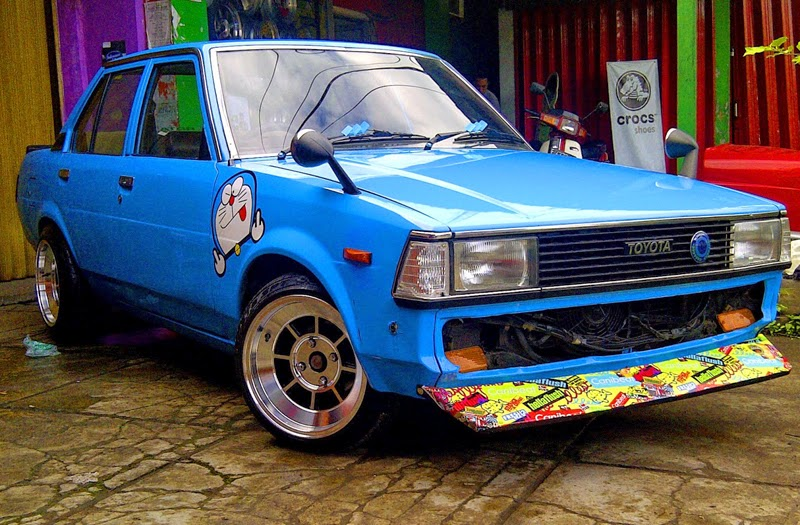 modifikasi toyota corolla dx
