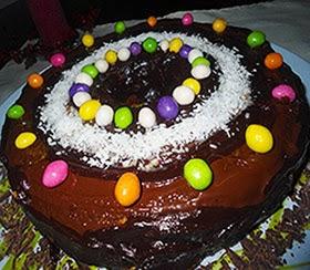 receita de bolo de natal decorado