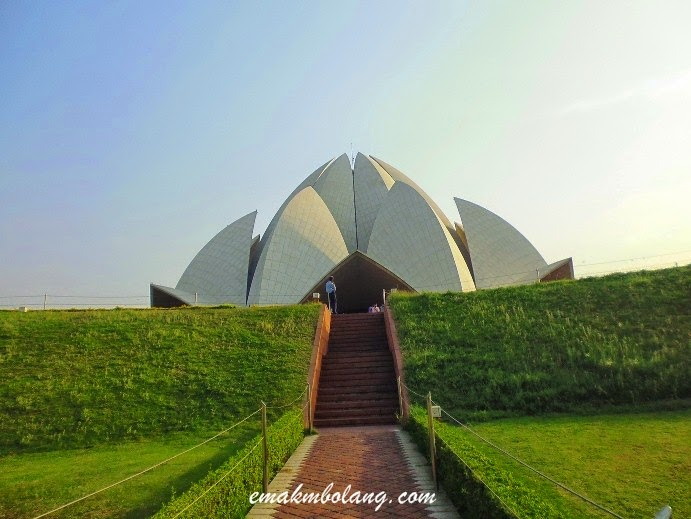Kuil Lotus di Delhi