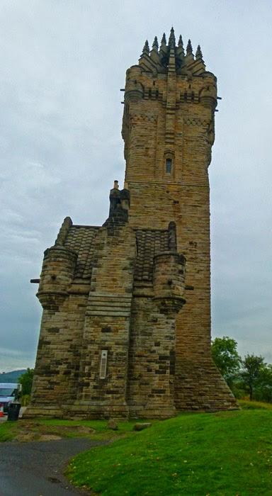 Abbey Craig, memorial, Stirling, Britain