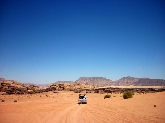 deserto wadi rum, giordania