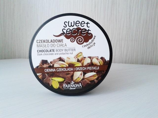 Masło do ciała sweet secret - ciemna czekolada i orzech pistacji.