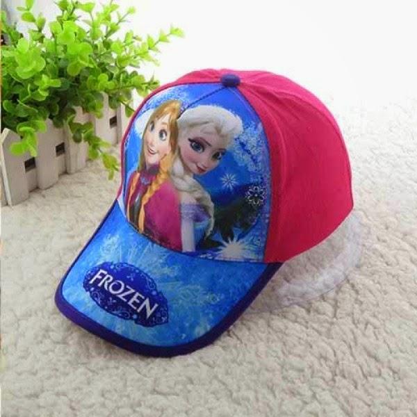 Gambar topi elsa dan anna frozen