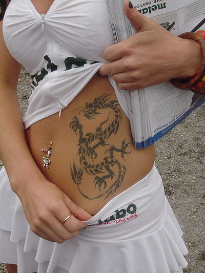 Dragon Tattoos For A Girl Japanese Tattoos And Chinese Tattoos