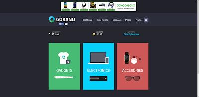 Cara Mendapatkan Beragam Gadget dari Gokano!
