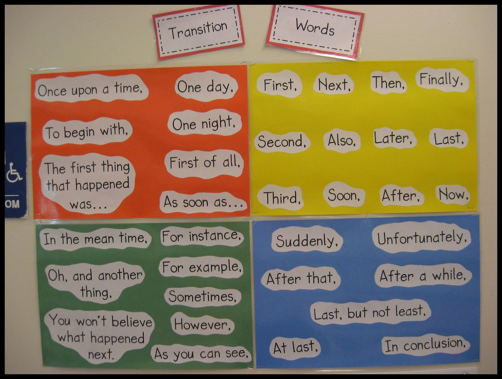 ideas about Transition Words on Pinterest   Creative writing