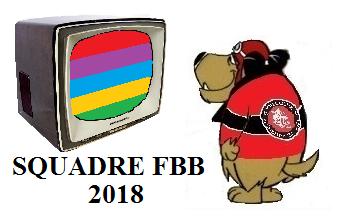 SQUADRE 2018